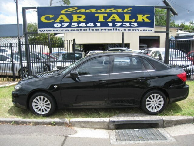 Used Subaru Impreza MY10 R (AWD), 2010 Subaru Impreza MY10 R (AWD) Black 4 Speed Automatic Sedan