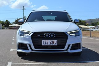 2017 Audi S3 8V MY17 Sportback S Tronic Quattro White 7 Speed Sports Automatic Dual Clutch Hatchback