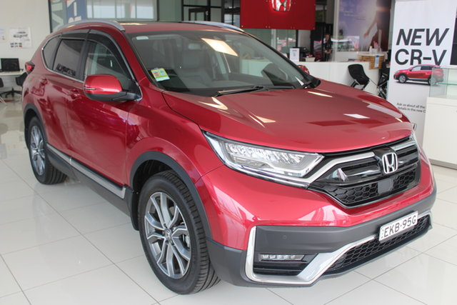 Demo Honda CR-V RW MY21 VTi 4WD LX AWD, 2020 Honda CR-V RW MY21 VTi 4WD LX AWD Ignite Red 1 Speed Constant Variable Wagon