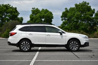 2017 Subaru Outback B6A MY17 2.5i CVT AWD White 6 Speed Constant Variable Wagon
