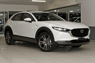 2020 Mazda CX-30 DM2WLA 100th Anniversary SKYACTIV-Drive White 6 Speed Sports Automatic Wagon.