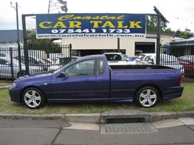 Used Ford Falcon BA XR6, 2002 Ford Falcon BA XR6 Purple 5 Speed Manual Utility