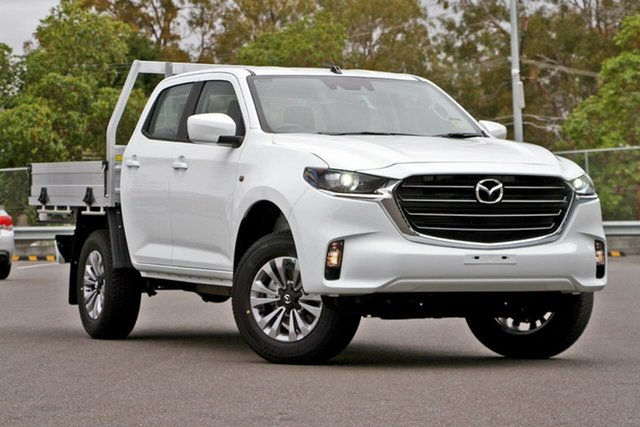 New Mazda BT-50 TFS40J XT, 2020 Mazda BT-50 TFS40J XT Ice White 6 Speed Sports Automatic Cab Chassis