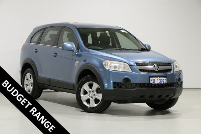 Used Holden Captiva CG SX (4x4), 2007 Holden Captiva CG SX (4x4) Blue 5 Speed Automatic Wagon