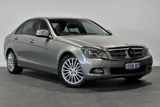 2008 Mercedes-Benz C-Class W204 C320 CDI Elegance Silver 7 Speed Sports Automatic Sedan.