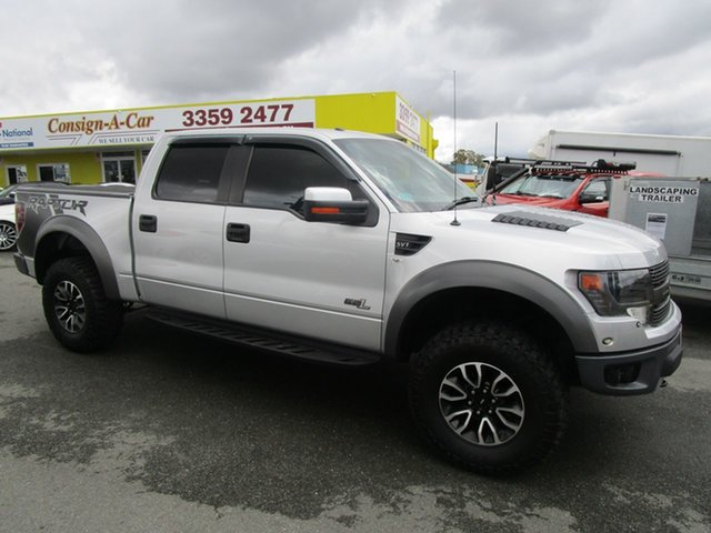 Used Ford F150  , 2014 Ford F150 RAPTOR Silver Cab Chassis