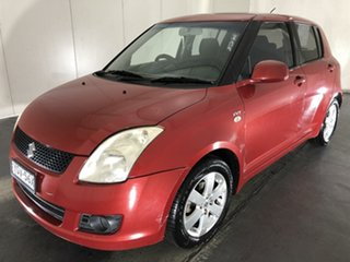 2007 Suzuki Swift RS415 S Red 5 Speed Manual Hatchback.