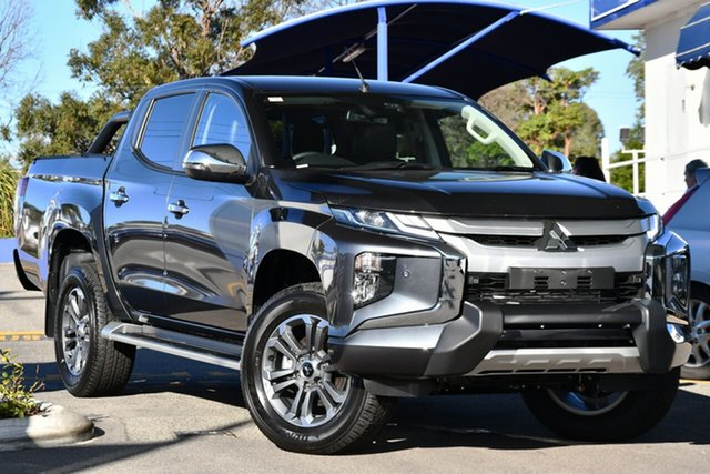 New Mitsubishi Triton MR MY20 GLS Double Cab Premium, 2020 Mitsubishi Triton MR MY20 GLS Double Cab Premium Graphite Grey 6 Speed Sports Automatic Utility