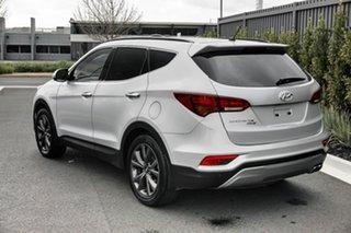 2018 Hyundai Santa Fe Silver Wagon.