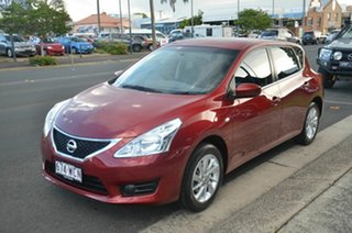 2015 Nissan Pulsar C12 Series 2 ST Maroon Continuous Variable Hatchback