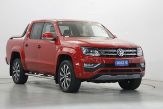 2019 Volkswagen Amarok 2H MY19 TDI580 4MOTION Perm Ultimate Tornado Red 8 Speed Automatic Utility