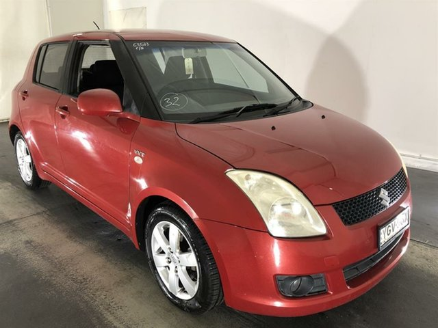 Used Suzuki Swift RS415 S, 2007 Suzuki Swift RS415 S Red 5 Speed Manual Hatchback