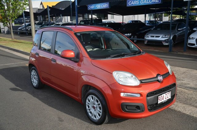 Used Fiat Panda Easy Toowoomba, 2015 Fiat Panda Easy Red 5 Speed Manual Hatchback