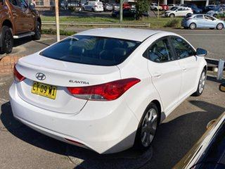 2013 Hyundai Elantra MD2 Premium White 6 Speed Sports Automatic Sedan