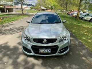 2014 Holden Commodore VF MY15 SV6 Silver 6 Speed Sports Automatic Sedan.