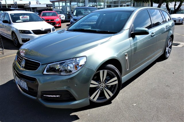 Used Holden Commodore VF MY14 SV6 Sportwagon Seaford, 2013 Holden Commodore VF MY14 SV6 Sportwagon Grey 6 Speed Sports Automatic Wagon