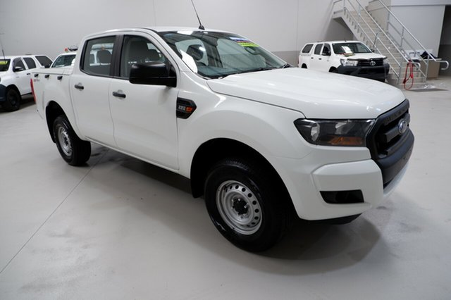 Used Ford Ranger PX MkII XL Hi-Rider, 2016 Ford Ranger PX MkII XL Hi-Rider White 6 Speed Sports Automatic Utility