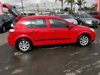 2007 Holden Astra AH MY07 CD Red 5 Speed Manual Hatchback
