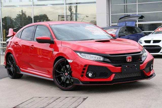 Used Honda Civic 10th Gen MY17 Type R Liverpool, 2017 Honda Civic 10th Gen MY17 Type R Rally Red 6 Speed Manual Hatchback