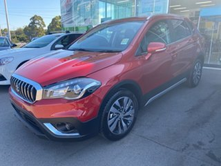 2020 Suzuki S-Cross JY Turbo Prestige Energetic Red 6 Speed Sports Automatic Hatchback.