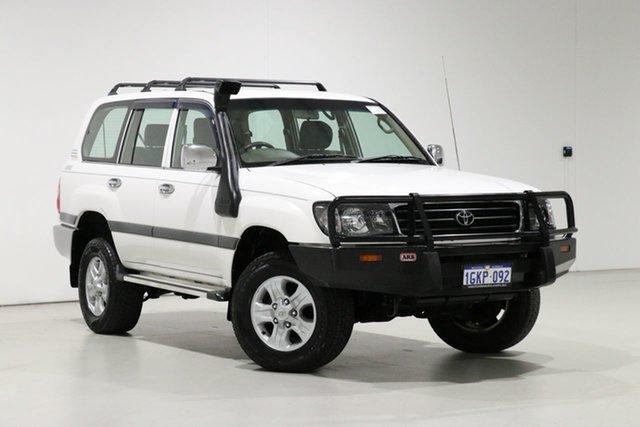 Used Toyota Landcruiser HZJ105R GXL (4x4), 2001 Toyota Landcruiser HZJ105R GXL (4x4) White 5 Speed Manual 4x4 Wagon