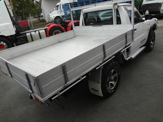 2005 Nissan Patrol GU ST (4x4) White 5 Speed Manual Coil Cab Chassis.