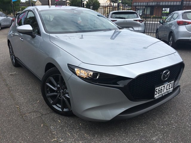 Used Mazda 3 BP2H7A G20 SKYACTIV-Drive Touring, 2020 Mazda 3 BP2H7A G20 SKYACTIV-Drive Touring Silver 6 Speed Sports Automatic Hatchback