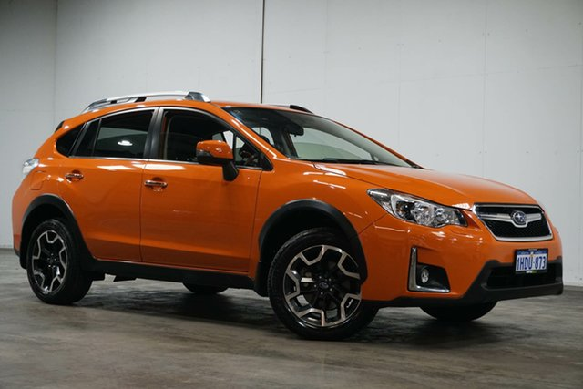 Used Subaru XV G4X MY16 2.0i-S Lineartronic AWD Welshpool, 2016 Subaru XV G4X MY16 2.0i-S Lineartronic AWD Orange 6 Speed Constant Variable Wagon