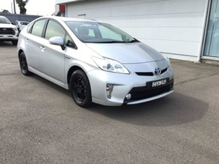2012 Toyota Prius ZVW30R Silver 1 Speed Constant Variable Liftback Hybrid