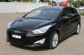 2012 Hyundai i40 VF Active Black 6 Speed Automatic Wagon.