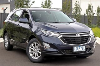 2019 Holden Equinox Blue Wagon.