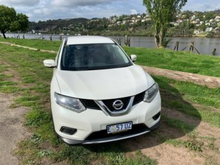2015 Nissan X-Trail T32 ST X-tronic 4WD Ivory Pearl 7 Speed Constant Variable Wagon.