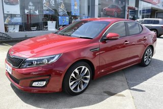 2015 Kia Optima TF MY15 SLi Red 6 Speed Sports Automatic Sedan.
