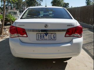 2014 Holden Cruze JH MY14 Equipe White 5 Speed Manual Sedan