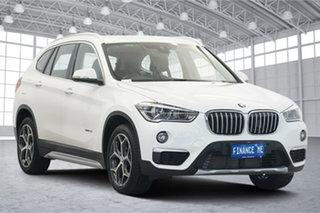 2016 BMW X1 F48 sDrive20i Steptronic White 8 Speed Sports Automatic Wagon.