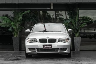 2009 BMW 120i E88 MY10 120i Silver 6 Speed Automatic Convertible.