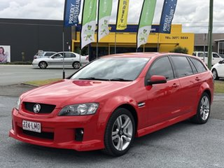 2008 Holden Commodore VE MY09 SV6 Sportwagon Red 5 Speed Sports Automatic Wagon