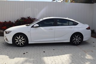 2018 Holden Commodore ZB MY18 RS Liftback White 9 Speed Sports Automatic Liftback