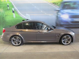 2016 BMW M3 F80 LCI Bronze 7 Speed Auto Dual Clutch Sedan.
