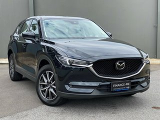 2020 Mazda CX-5 KF4WLA GT SKYACTIV-Drive i-ACTIV AWD Jet Black 6 Speed Sports Automatic Wagon.