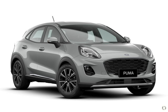 Demo Ford Puma JK 2020.75MY Puma Ferntree Gully, 2020 Ford Puma JK 2020.75MY Puma Silver 7 Speed Sports Automatic Dual Clutch Wagon