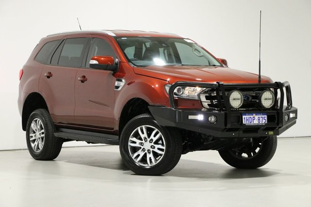 Used Ford Everest UA Trend, 2016 Ford Everest UA Trend Burgundy 6 Speed Automatic SUV