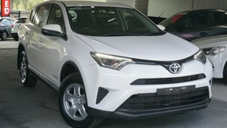 2017 Toyota RAV4 ALA49R GX AWD White 6 Speed Sports Automatic Wagon.