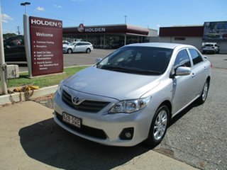 2012 Toyota Corolla ZRE152R MY11 Ascent Sport Silver 4 Speed Automatic Sedan.