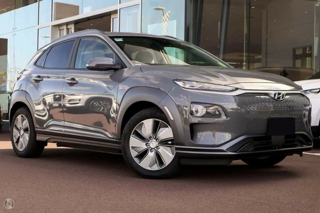 New Hyundai Kona OSEV.2 MY20 electric Elite Nailsworth, 2020 Hyundai Kona OSEV.2 MY20 electric Elite Galactic Grey 1 Speed Reduction Gear Wagon