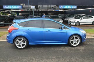 2012 Ford Focus LW MK2 Titanium Blue 6 Speed Automatic Hatchback.