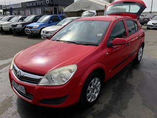 2007 Holden Astra AH MY07 CD Red 5 Speed Manual Hatchback.