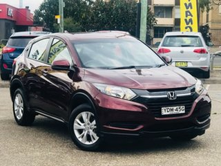 2015 Honda HR-V MY15 VTi Red 1 Speed Constant Variable Hatchback.