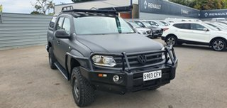 2015 Volkswagen Amarok 2H MY16 TDI420 4MOTION Perm Core White Grey Wrap/grey 8 Speed Automatic.