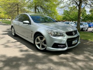 2014 Holden Commodore VF MY15 SV6 Silver 6 Speed Sports Automatic Sedan